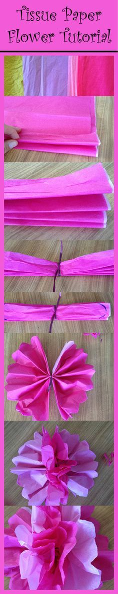 How to Make Tissue Paper Flowers for Dia de los Muertos   Best Kid's Crafts and Activities