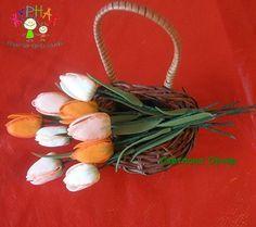 Тюльпаны мастер класс из фоамирана