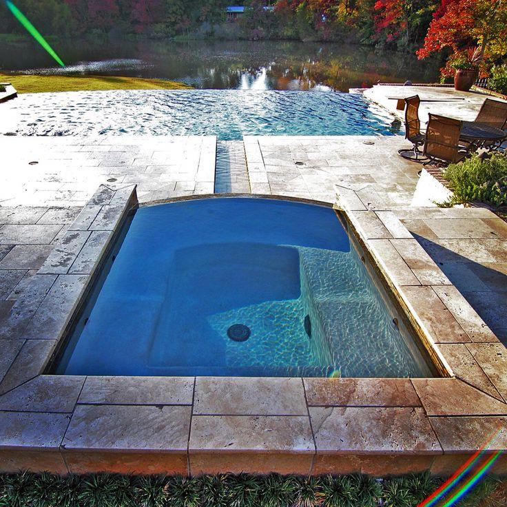 Swimming Pool Edge: 42 Best Straight Line Pools Images On Pinterest