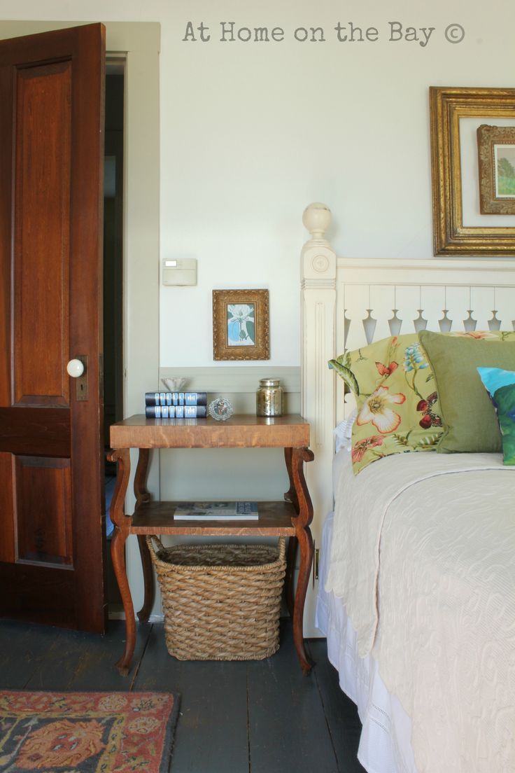 Estate Sale Nightstand: At Home on the Bay