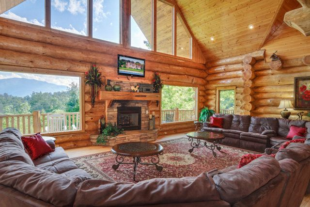 17 Best Images About Large Cabins In The Smokies On