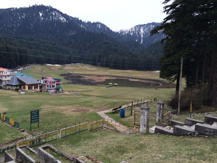 Khajjar, natural beauty of nature.