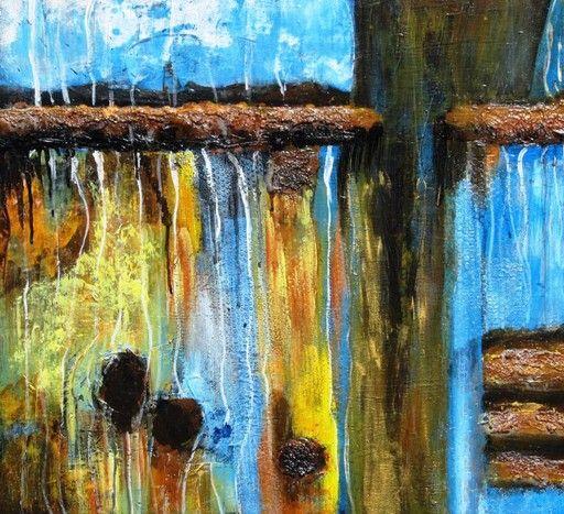 "\""Rain Against The Pane\"" by Pamela K Jamieson @ VirtualGallery.com"