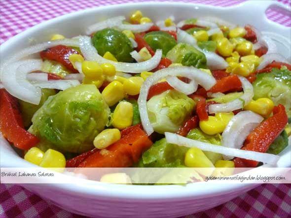 Brüksel Lahanası Salatası Tarifi | Yemek Tarifleri Sitesi - Oktay Usta - Harika ve Nefis Yemek Tarifleri