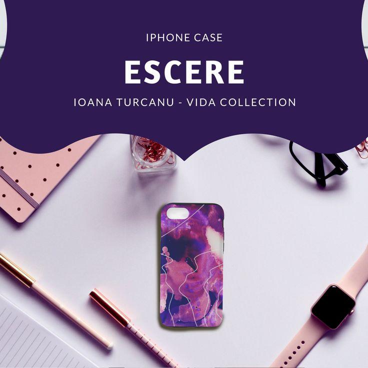 ESCERE - Iphone case Ioana Turcanu - VIDA collection