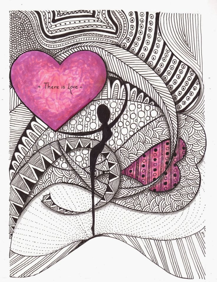 Zentangle Expressions: Copic Zentangle