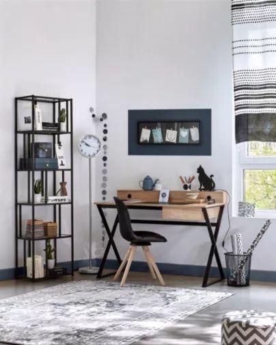 voici mes conseils pour amnager un bureau un style masculin pour adulte ou chambre d - Lamp Bureau Ado