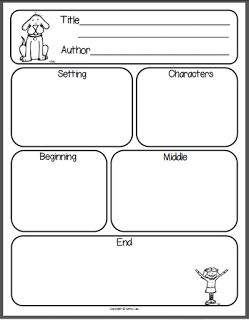 5th grade Story Elements Graphic Organizer   Click on the picture above to grab your own copy. ENJOY!!