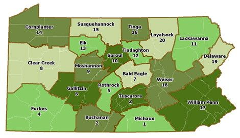 PA State Forest Index