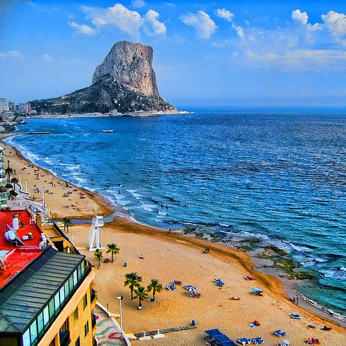Calp, Valencia, Spain photo via ysvoice