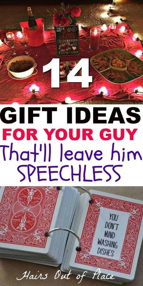 12 nette Valentinstag-Geschenke für ihn