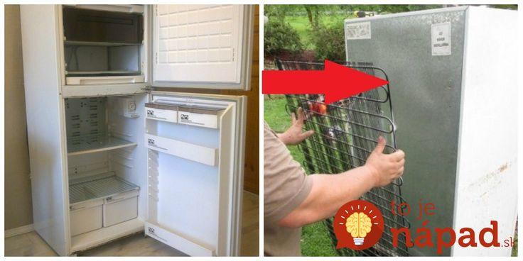 Títo ľudia vám ukážu, že to ide aj inak. Namiesto toho, aby chladničku vyhodili, celý spotrebič, alebo jeho súčasti využili úplne iným - originálnymi spôsobom. Pozrite sa na tie skvelé nápad!