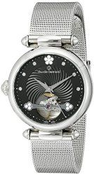 Claude Bernard Women's 85022 3M NPN Dress Code Analog Display Swiss Automatic Silver Watch