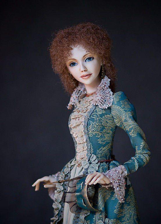 Авторские куклы лучших мастеров мира фото