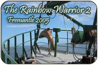 Rainbow Warrior Visits Fremantle in 2001