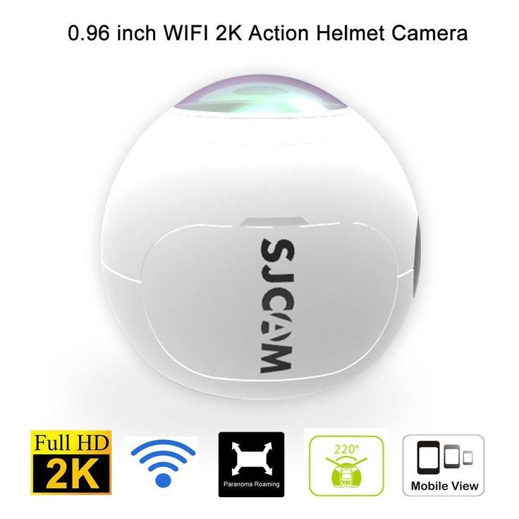 Genuine SJCAM SJ360 Action Camera Outdoor Sport DV Wireless 360 Degree Panoramic Camera 3D VR Sports camera Wifi 12MP 2K 30fps