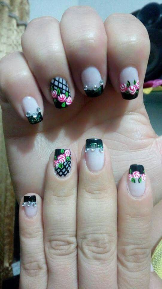 Pin De Francy Milena Villegas Mejia En Uñas Pinterest Nails