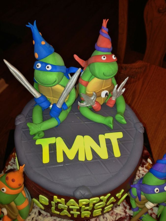 158 Best Images About Boys Ninja Turtle Party 2014 On