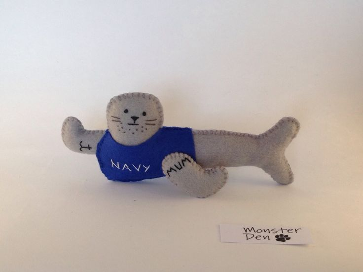 Navy Seal -  Fun, cute gift for friends - army, military, elite, commando by MonsterDen on Etsy