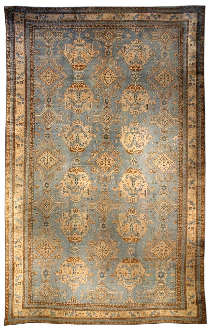 Antique Rugs NYC, A Turkish Oushak Rug BB3549   By Doris Leslie Blau. An