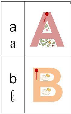Alphabet tactile à imprimer