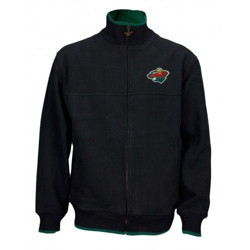 43% OFF! Reebok NHL Men's Minnesota Wild Zip Up Sweatshirt - FashionForPlay.com #nhl #wild