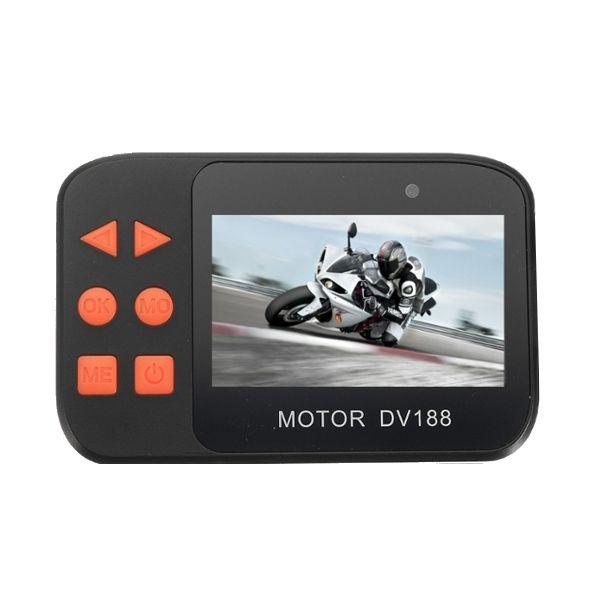 2.7inch 1086P Dual FHD Video Cámara Visión Nocturna DVR Impermeable Para Moto Coche