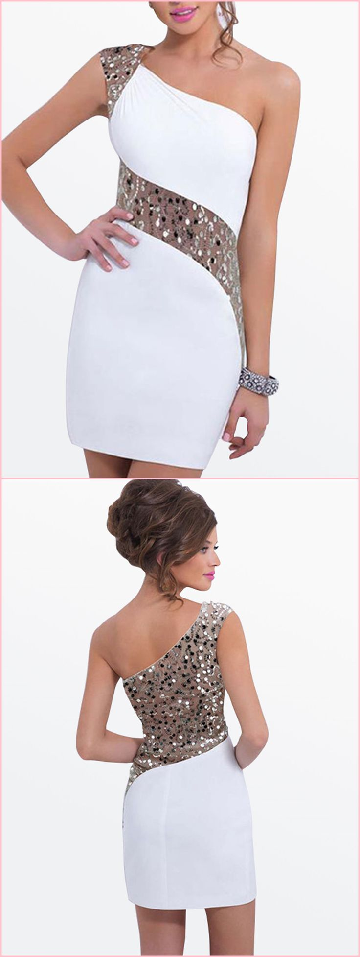 Off Shoulder Sequins Women's Bodycon Dress #tbdressreviews #reviewstbdress
