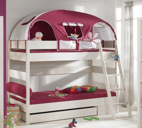 Amazing PAIDI Pinetta Etagenbett Fichte massiv wei Kinderbett M bel Mit moebelmit de
