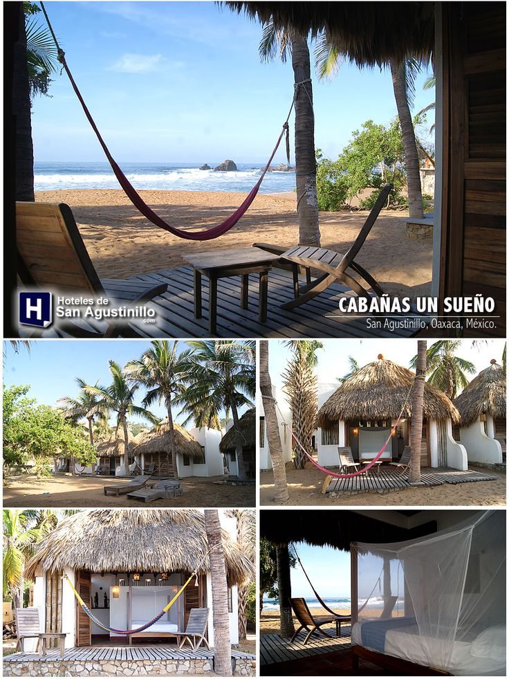 27 best hoteles en san agustinillo images on pinterest for Cabanas en mexico