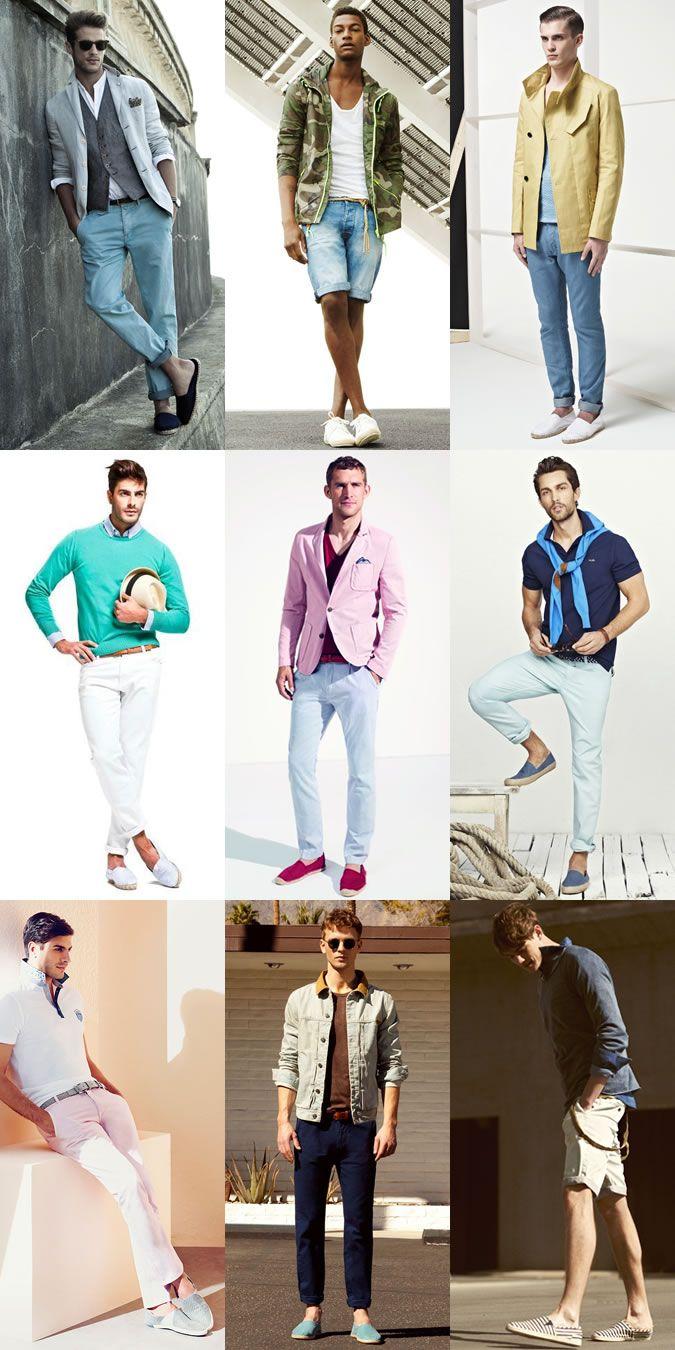 Men's Espadrilles Outfit Inspiration