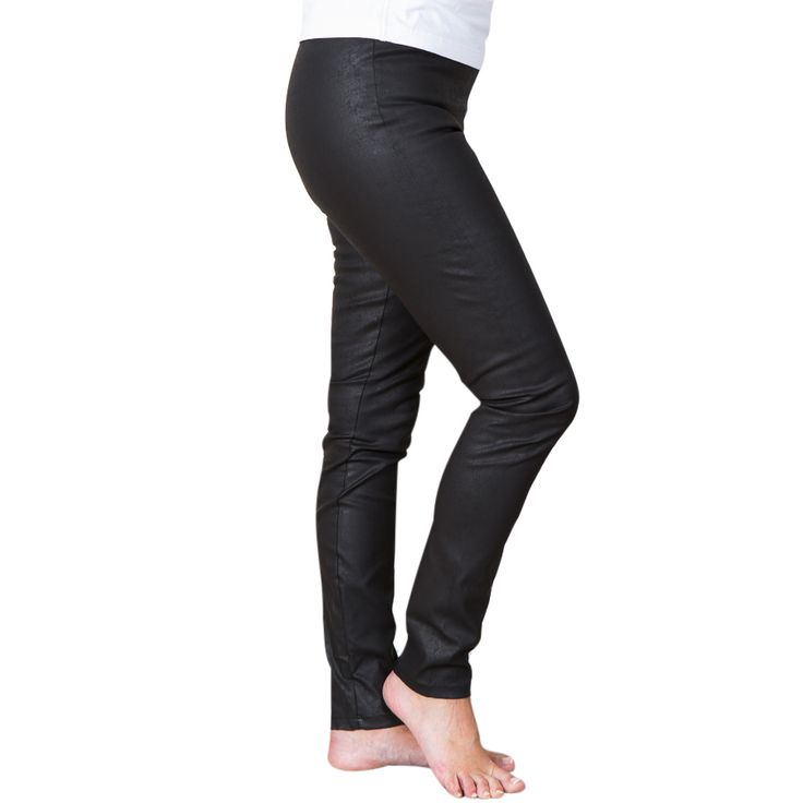 Chic pants - black rough