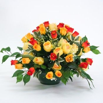 51 best compositions florales artificielles images on for Arrangement floral exterieur