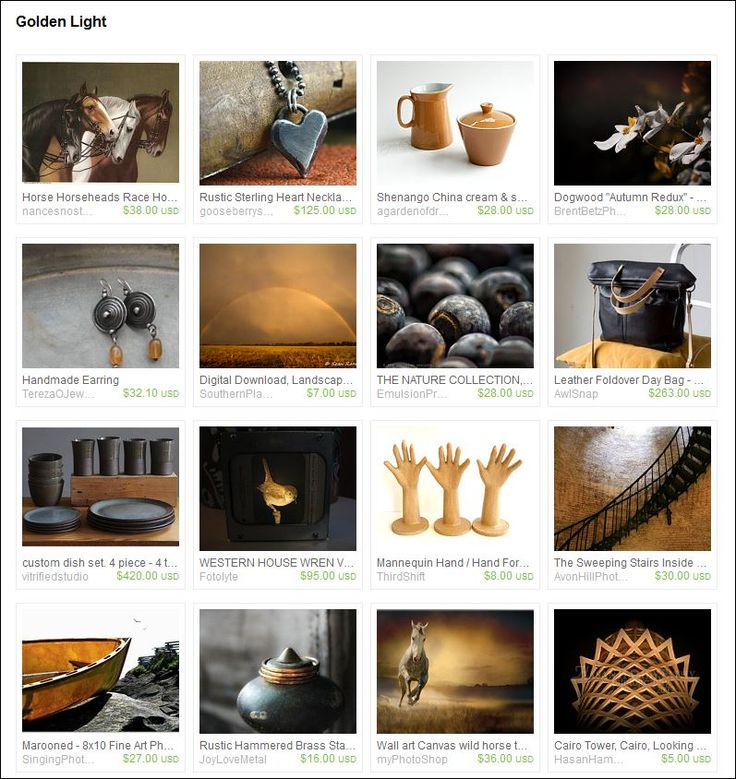 'Golden Light' curated by katiegrayhairedgirl on Etsy