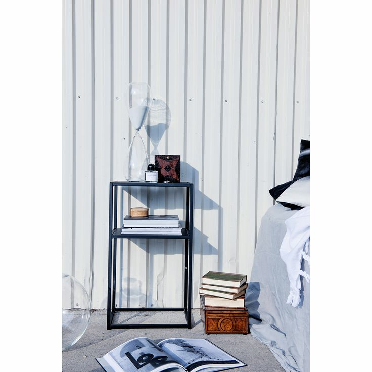 Domo sängbord S, svart i gruppen Möbler / Bord / Sängbord hos RUM21.se (1023801)