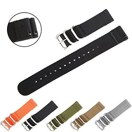 Quick-Change Ballistic Nylon Band (Black)