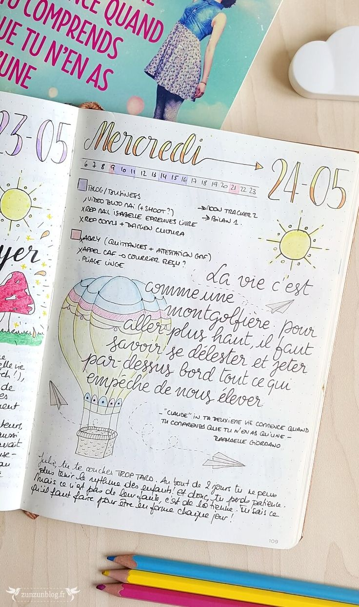 bullet journal daily log lettering citation