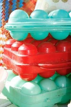 SEVENTIES FOR EGS - plastic eieren doosje
