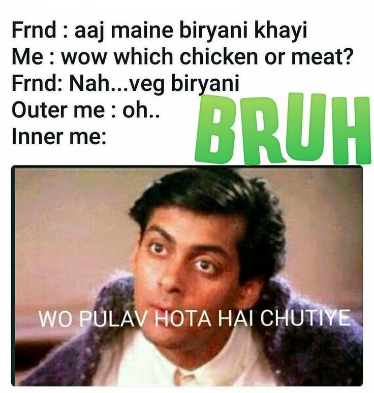 tag ur Vegetarian friend. . . . Follow @beingallrounder or more savage videos and memes . . . . #chutiya #bakchod #bakchodi #funny #sarcasm #beingallrounder #punjabi #indian #jaipur #palghar #delhi #mumbai #pune #dehradun #india #indian #surat #bangalore #like4like #friends #kanpur #patna #likeforlike #vasai #followme #instagood #instagram #like4follow #instagood #andajapnaapna