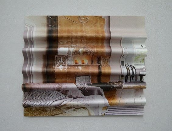 Rachel Wrigley Uses Magazine Pages To Create Abstract Sculptures