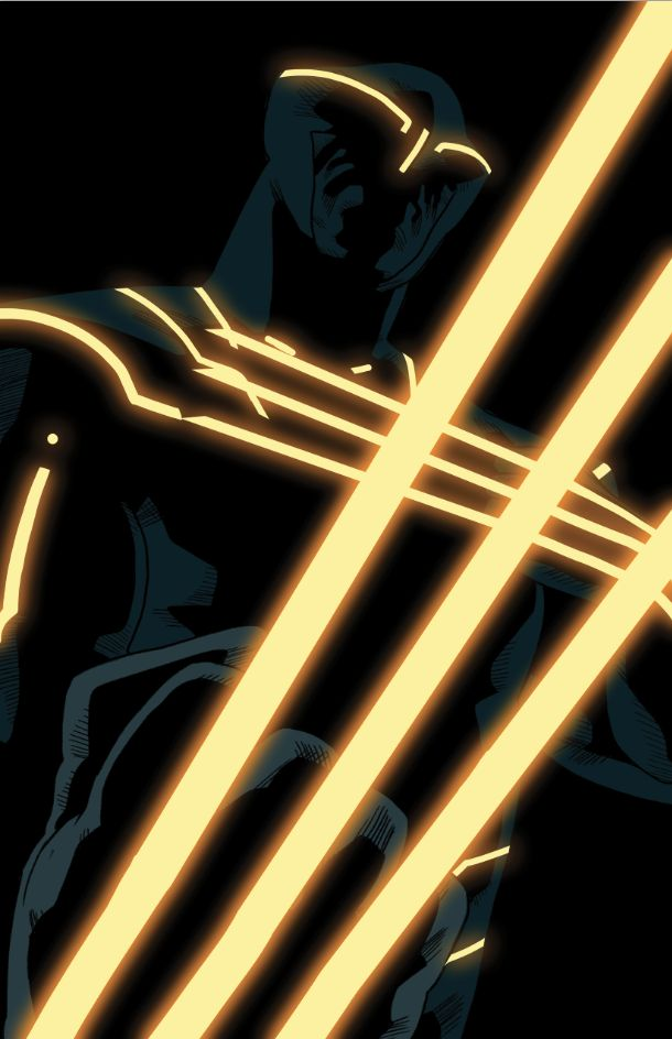 Wolverine tron by *anklesnsocks on deviantART