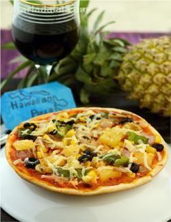 Check out Thin Crust Hawaiian Pizza. It's so easy to make! | Hawaiian ...