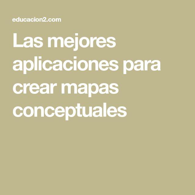 Las mejores aplicaciones para crear mapas conceptuales