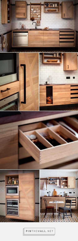 Good wood - the stunning modular 'Railway Kitchen'... - Good Wood Would - created via http://pinthemall.net