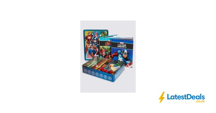 New Marvel Book Tin save £10 Free C&C, £5 at Marks & Spencer