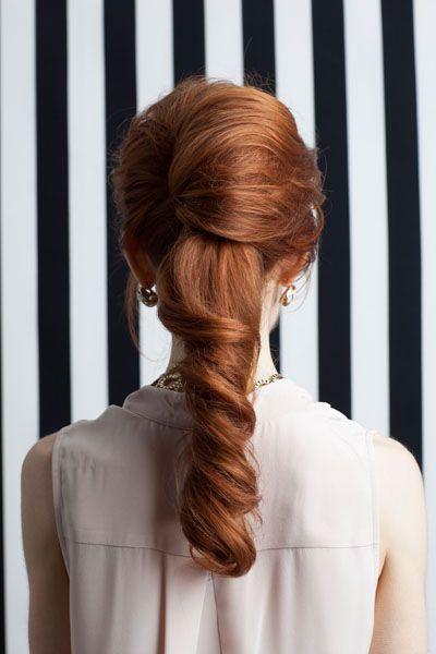 vintage retro ponytail  Hair - Kattia Solano Makeup - Francesca Roman Photography - Amelia Alpaugh
