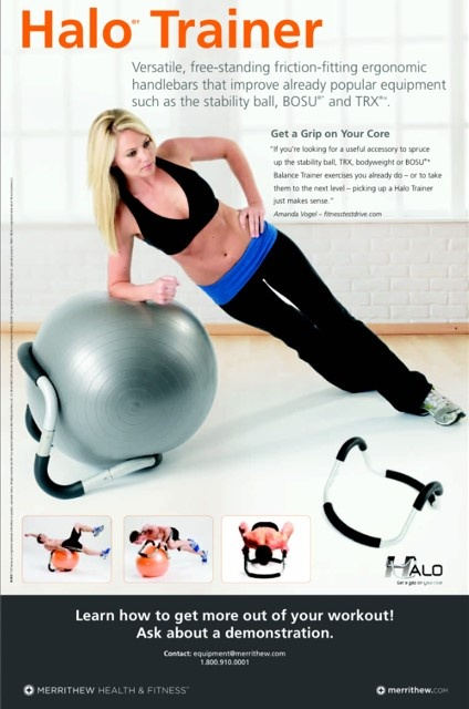 Halo Trainer Debut At Idea World 2012 Ball Exercises Workout Trainers