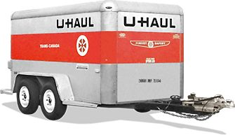 5' x 10' Cargo Trailer. Lightweight aluminum construction makes it easy to tow. #Moving #Trailer