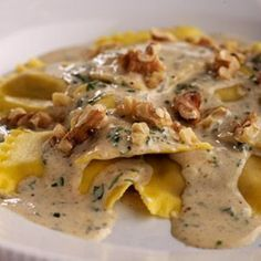 Butternut Squash Ravioli with Brown Butter Sauce Quick sauce fixup for premade ravioli