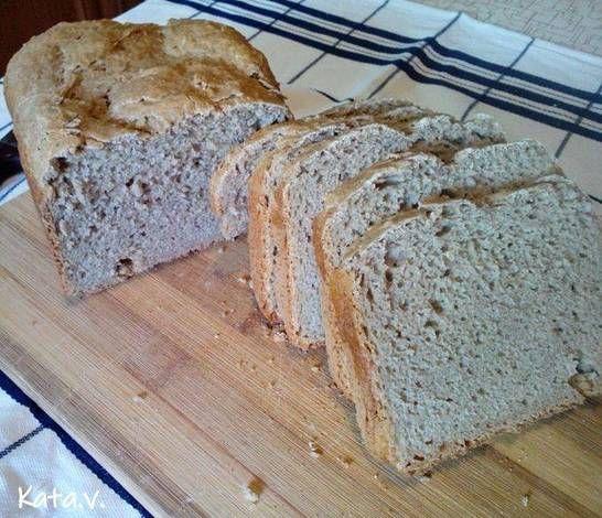 Zabpelyhes kenyér - Kata Vinczéné receptje - Recipe in..
